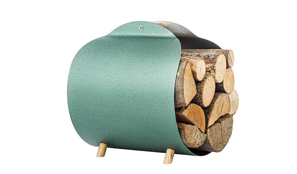 carrello porta legna